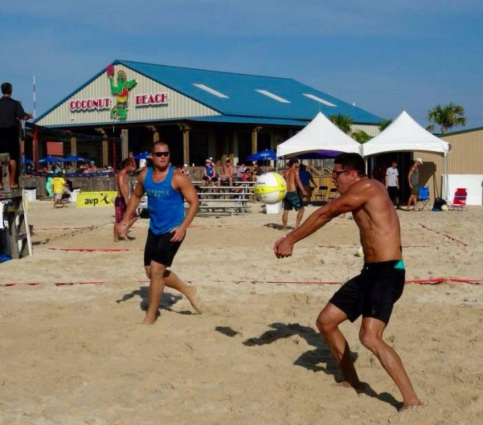 1) Coconut Beach volleyball