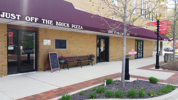 3. Just Off The Brick Pizza
