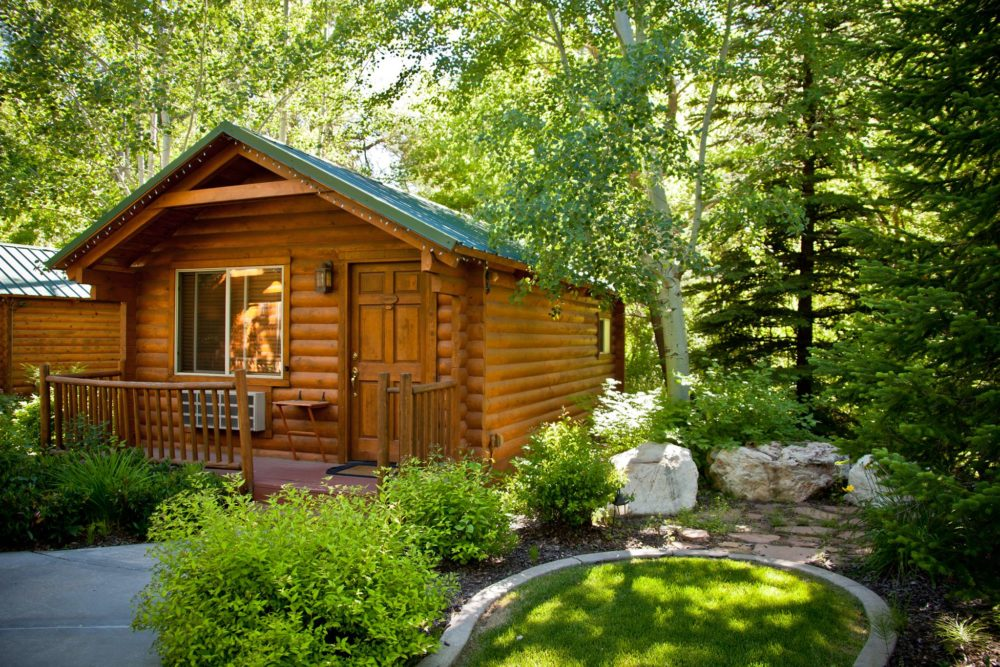 awesome cabins in utah for camping overnight