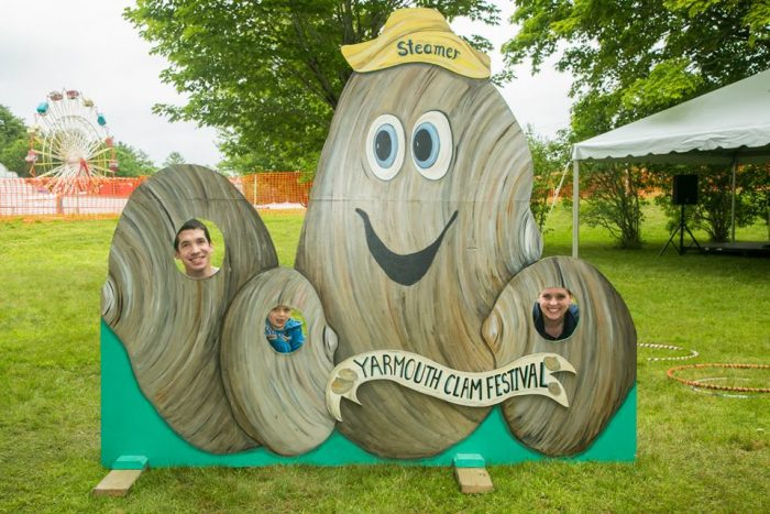 2. The Yarmouth Clam Festival. (It's this weekend!)
