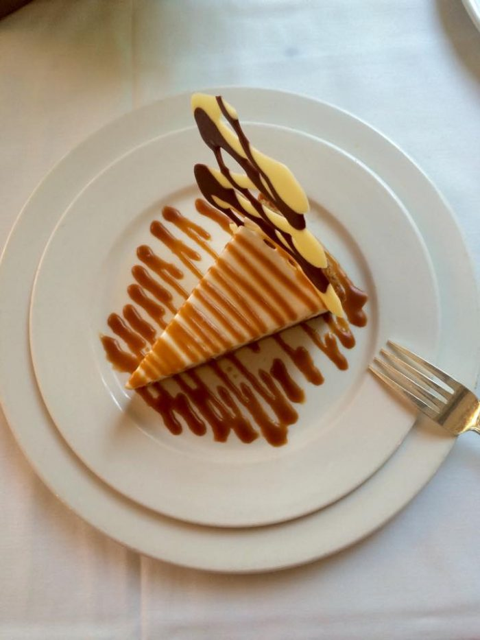 And of course, you don't want to miss dessert here--it's truly amazing!