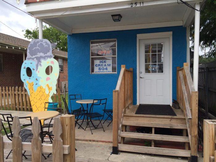 4) Ice Cream 504, 2511 Jena St.