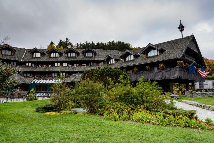 2.  The Von Trapp Family Lodge