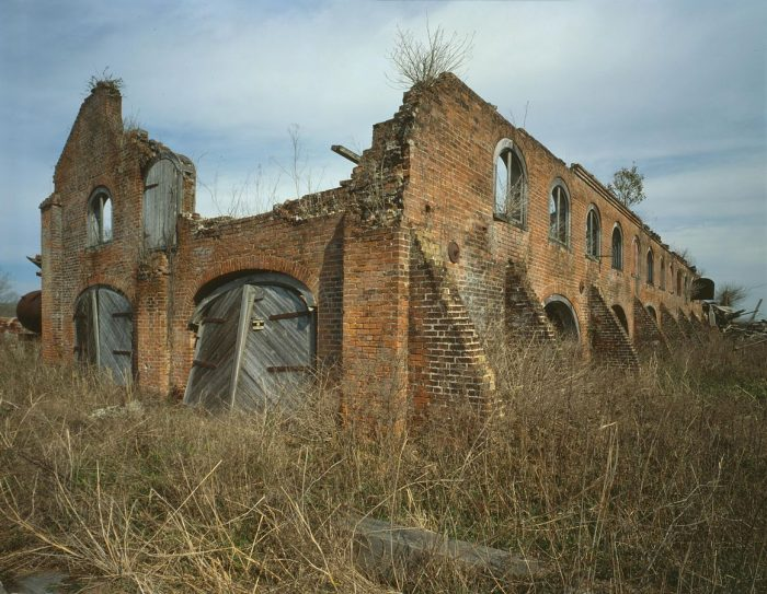 There are also some ruins on the site, including this sugar mill pictured here.