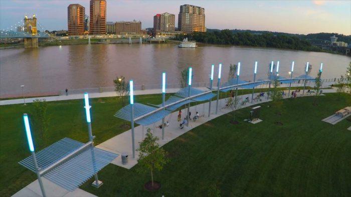 4. The Ohio River Trail (Cincinnati)