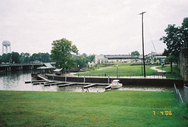 4. Bayou Waterfront Park and Plaquemine Lock State Historic Site, Plaquemine