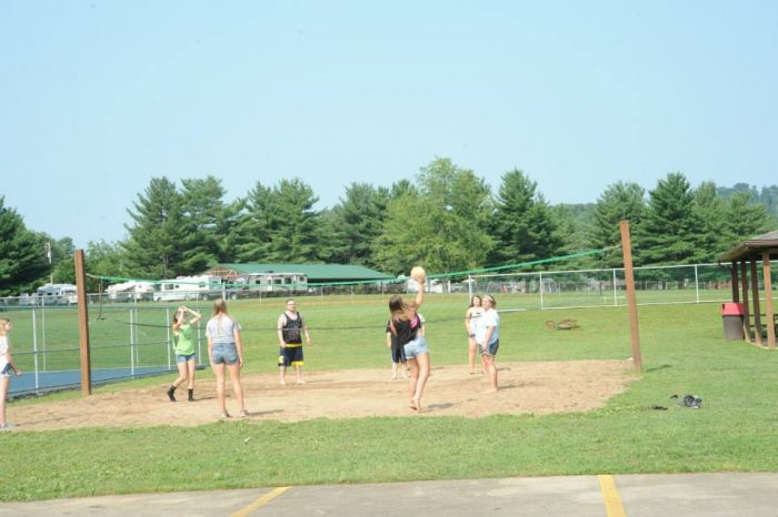 ...sand volleyball...