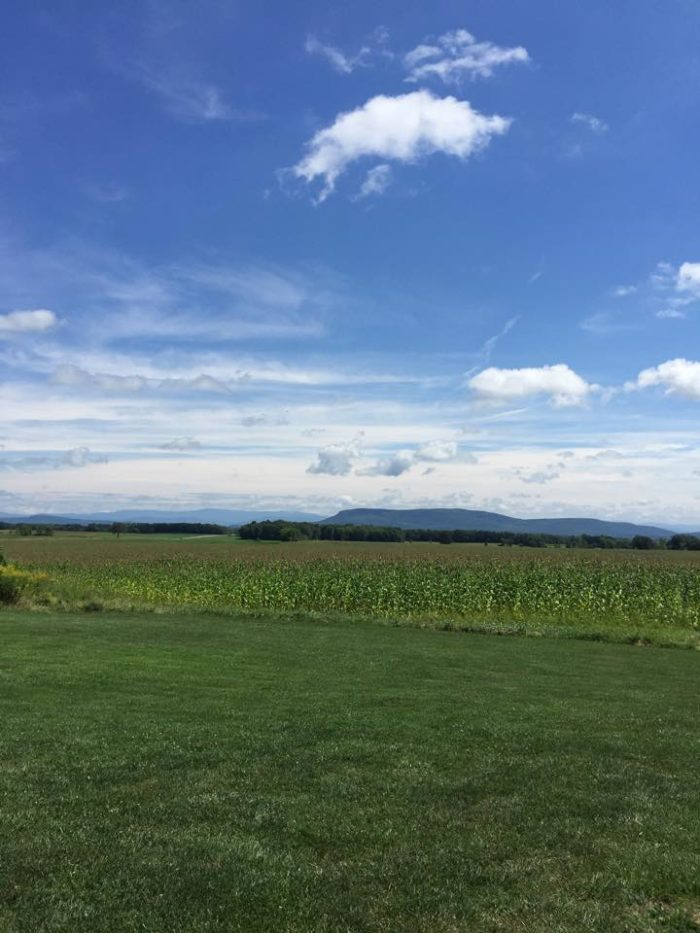 Top it all off with quintessential Vermont views.