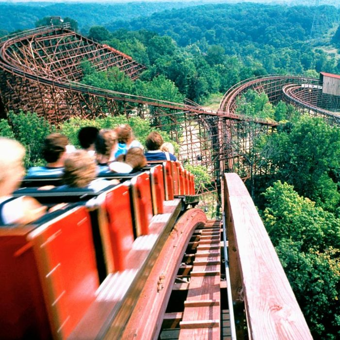2. The Beast at Kings Island Amusement Park: date unknown