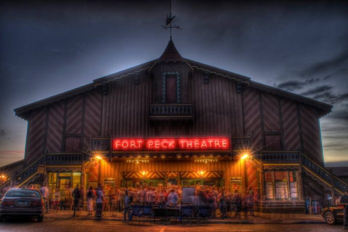 13.  The Fort Peck Theatre