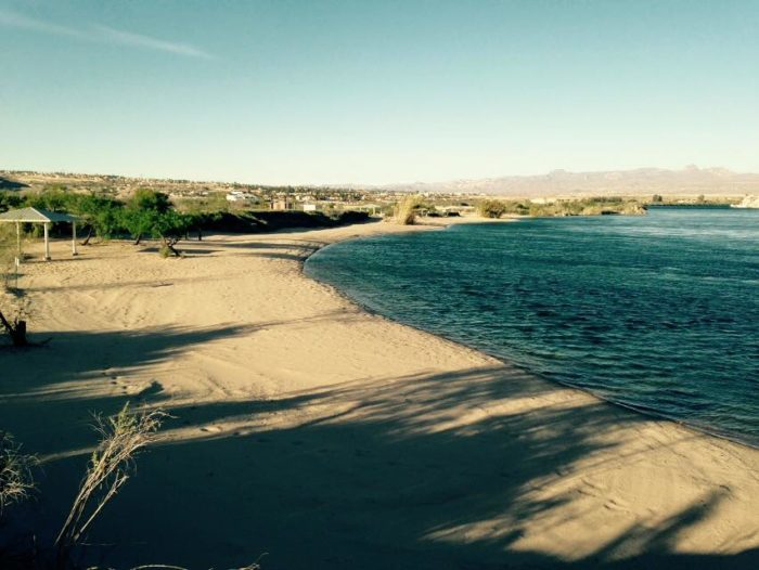 The park offers nearly two miles of shoreline, but the water is the main draw.