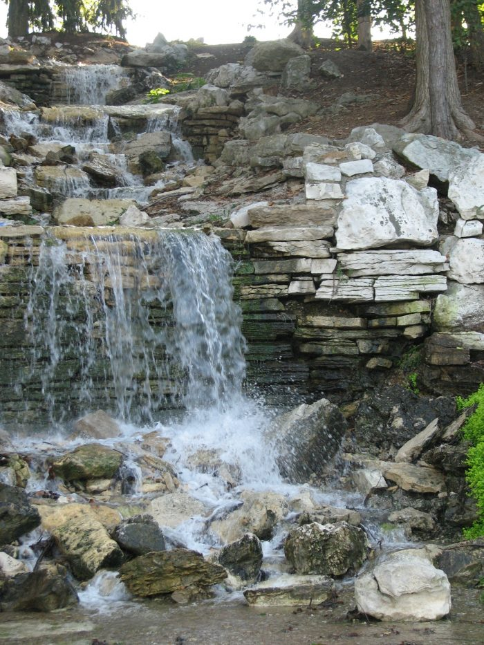 12. The Cascades in Forest Park – St. Louis, Mo.