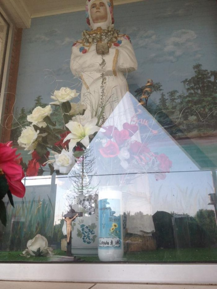 6. Shrine to Mother Mary, Golden Meadow, LA