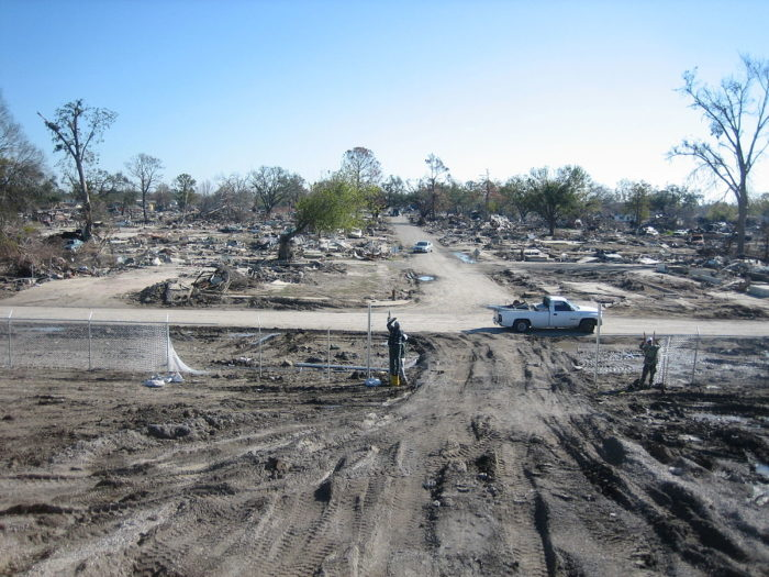 6) The Bombing of the 9th Ward Levee