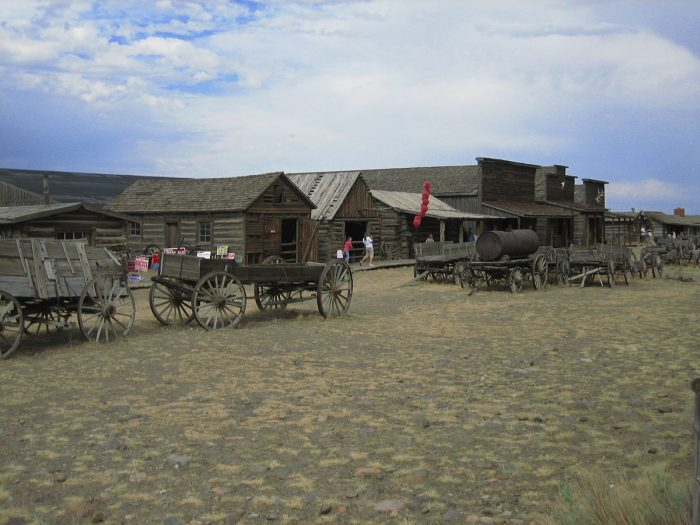6. Old Trail Town