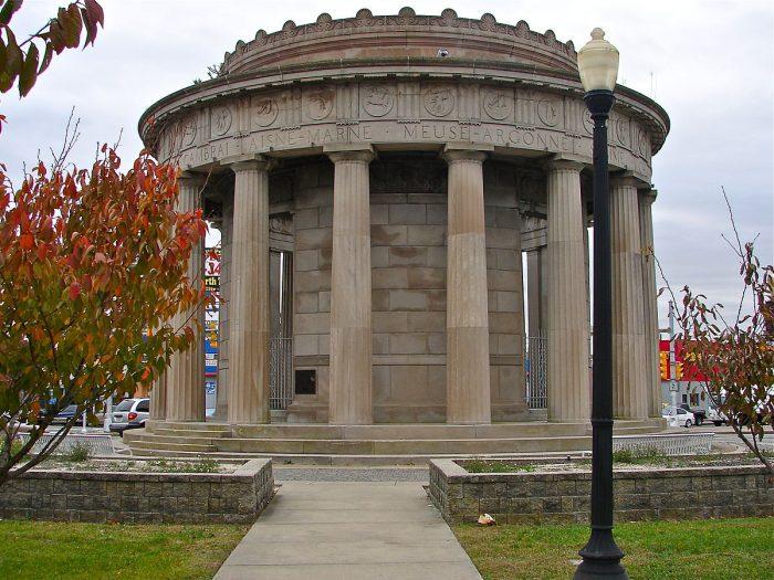 5. Word War I Memorial, Atlantic City