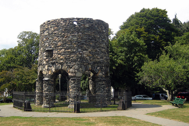 6. Old Stone Tower, Newport