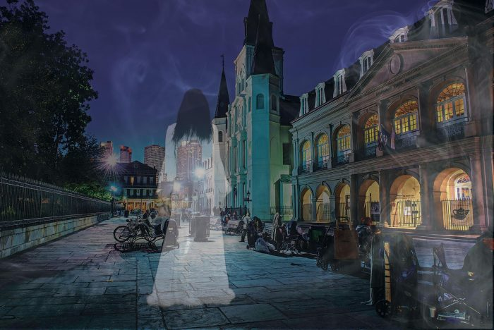 6) Go on A Ghost Tour of New Orleans.
