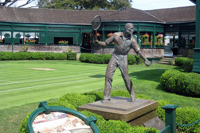 8. Newport is home to the International Tennis Hall of Fame.