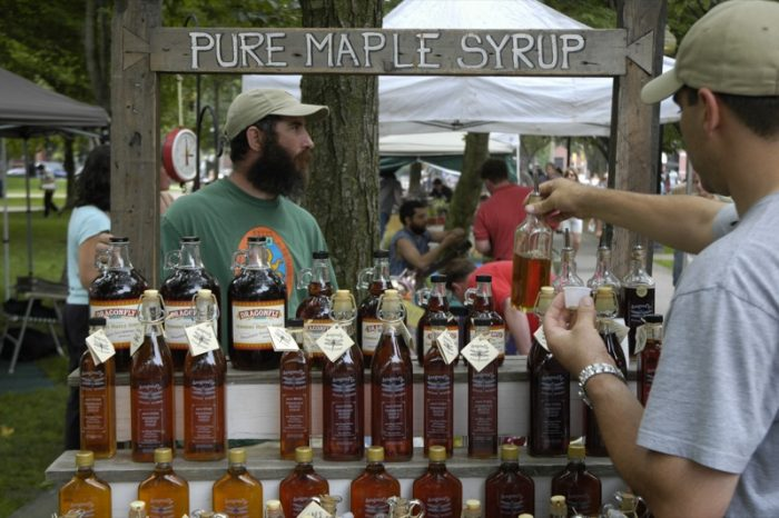 3.  Vermont Maple Syrup