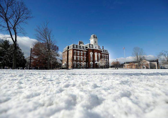 12.  Vermont College of Fine Arts, Montpelier