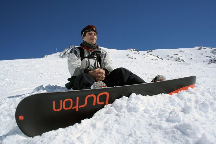 5.  We rock at snowboarding.