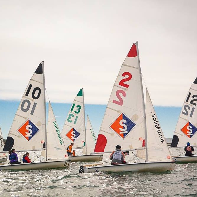 1. Learn to sail at Sail Maine.