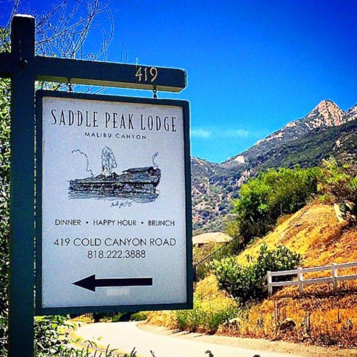 6. Saddle Peak Lodge -- Calabasas