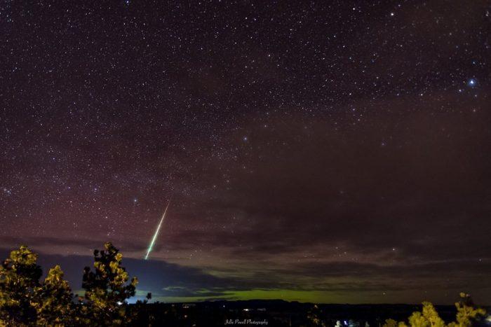 12. The night sky