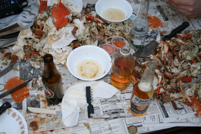 8. You'll lose track of how many crabs you've eaten.