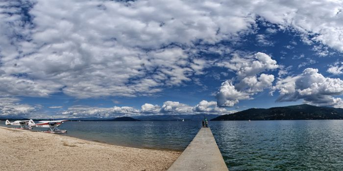 Once you've arrived in Sandpoint, hit up City Beach for a rejuvenating waterfront afternoon spent basking in the warm summer sand.