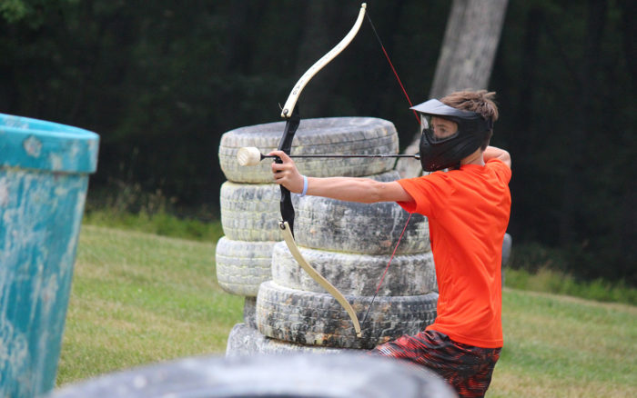 Try archery tag or hone your archery skills.