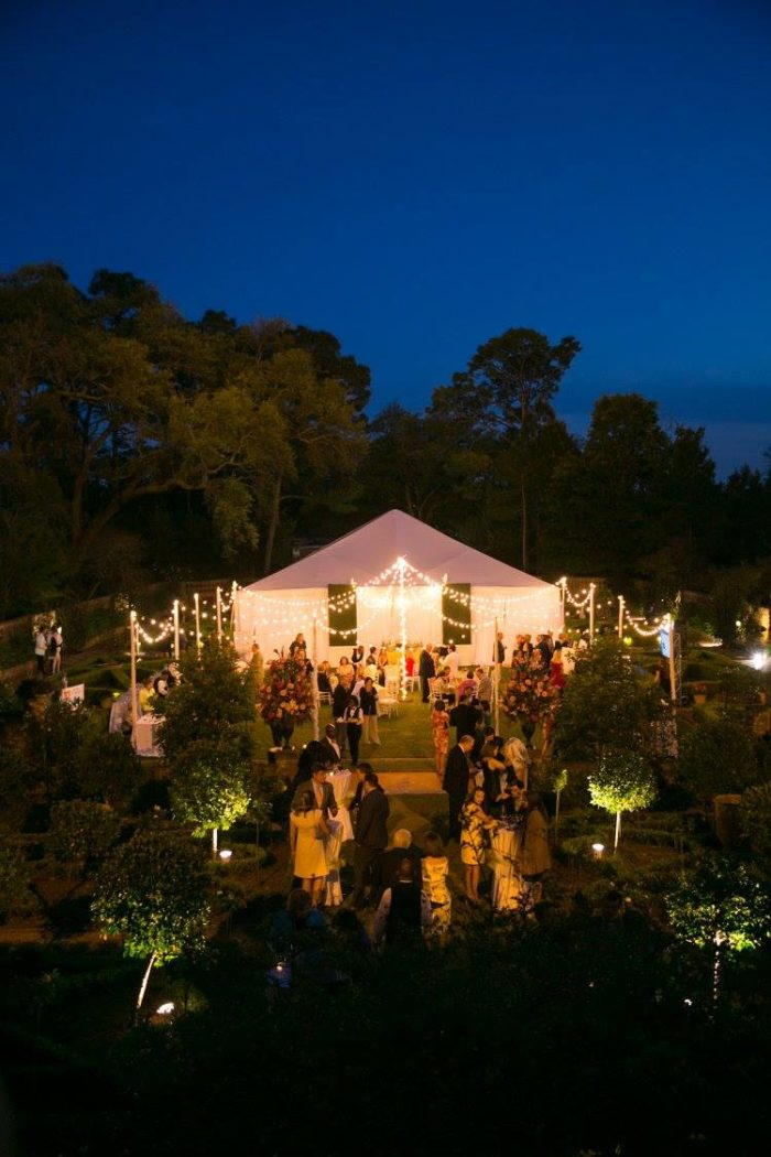The gardens are also open for individuals to book private parties and events.