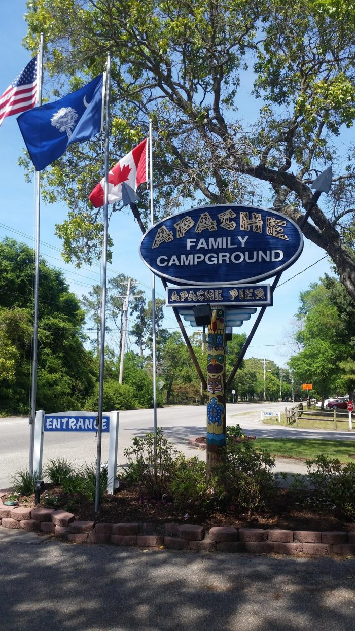 1. Apache Family Campground & Pier - Myrtle Beach, SC