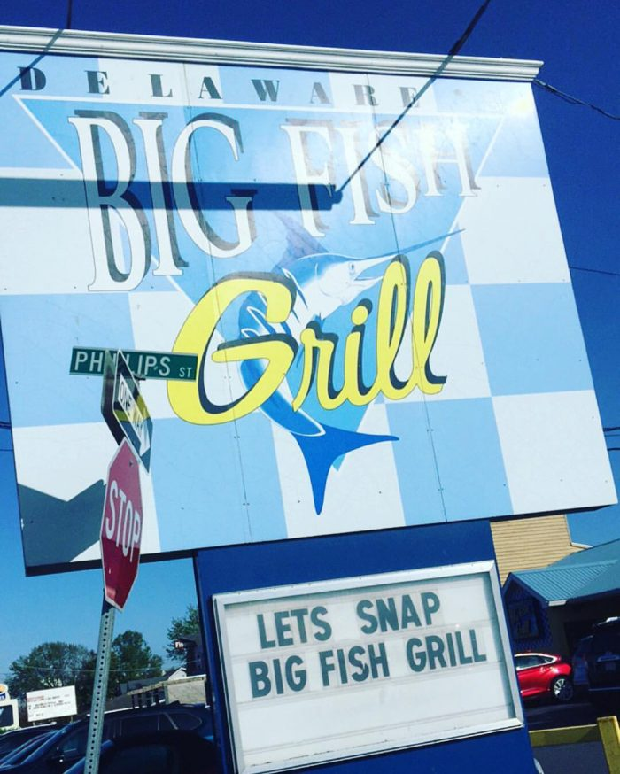 12 restaurants with the best seafood in delaware for Rehoboth beach fishing