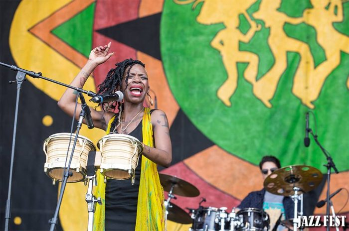 Finish your day at Congo Square.
