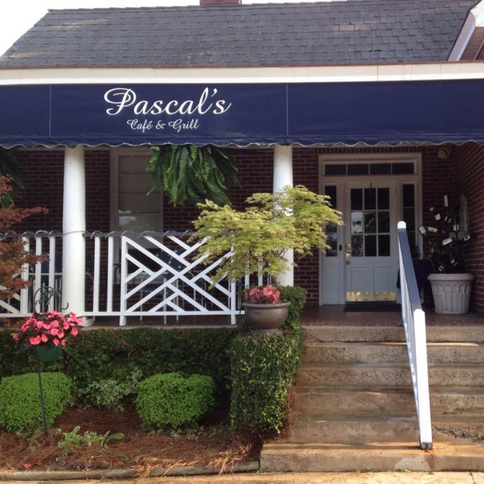 9. Pascal's Cafe & Grill - 307 W Cambridge Ave, Greenwood, SC 29646