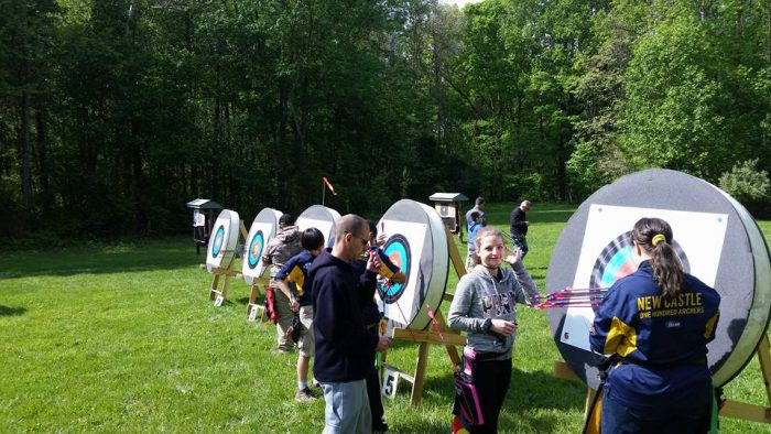 6. Try Archery in New Castle!