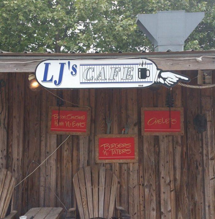 5. LJ's Cafe & Bait Shop (Lake Village)