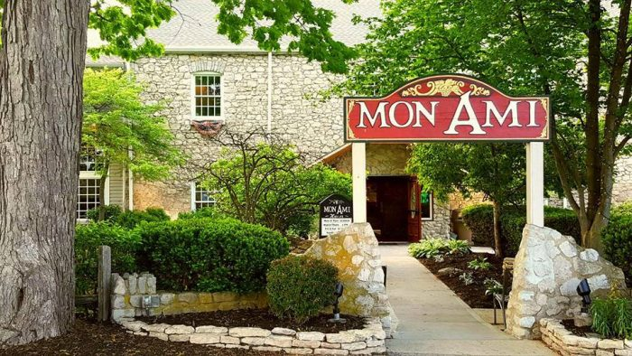 7. Mon Ami Restaurant and Winery (Port Clinton)