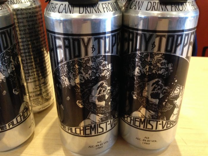 1.  Heady Topper Beer