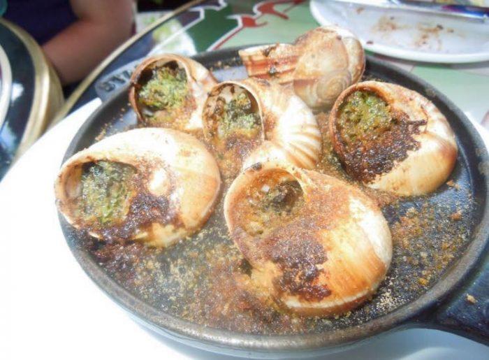 3. Escargot (A'vert Brasserie, West Hartford)