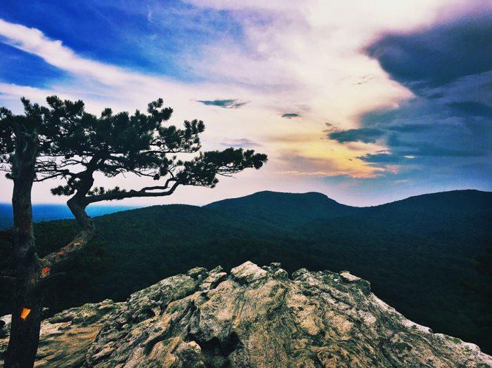 1. Hanging Rock State Park