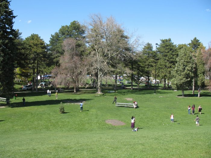 Large, open spaces are perfect for kite flying, soccer and just general frolicking about.