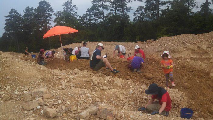 10. Mine for quartz crystals at Sweet Surrender Crystal Mine near Mount Ida.