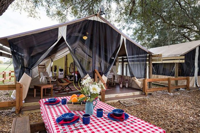 7 Luxury Glampgrounds In Florida
