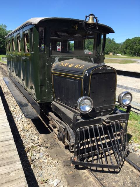 ...instead, check out the Boothbay Railway Village.