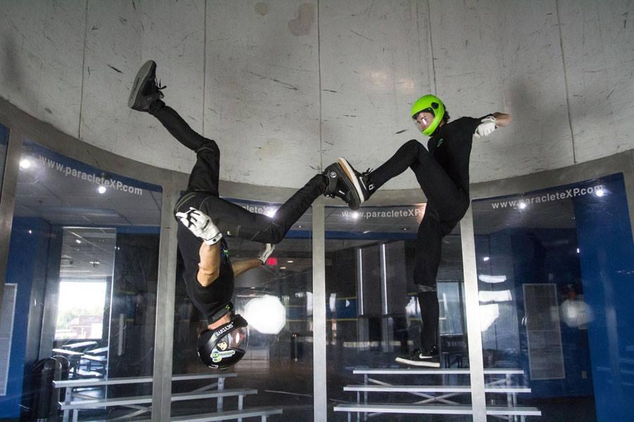 Skydive Indoors In North Carolina