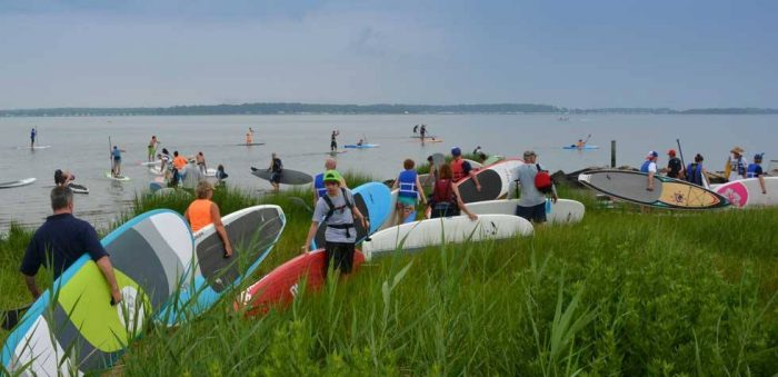 7. Hit the Water With Stand Up Paddleboarding