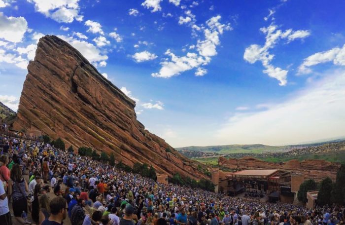 6. Experienced the magic of Red Rocks.